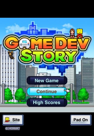 Game Dev Story IPhone IPod Touch